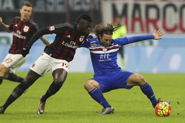 Prediksi Sampdoria vs AC Milan 17 September 2016